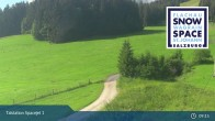 Archiv Foto Webcam Flachau: Spacejet 1 Talstation 03:00