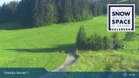 Archiv Foto Webcam Flachau: Spacejet 1 Talstation 13:00