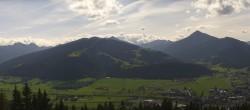Archiv Foto Webcam Blick vom Berggasthof Habersattgut nach Altenmarkt 11:00