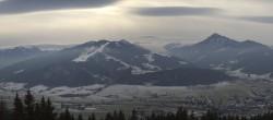 Archiv Foto Webcam Blick vom Berggasthof Habersattgut nach Altenmarkt 09:00