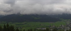 Archived image Webcam View from ´Berggasthof Habersattgut´ down to the ´Ennstal´ (Enns valley) 04:00