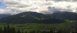 Archived image Webcam View from ´Berggasthof Habersattgut´ down to the ´Ennstal´ (Enns valley) 08:00