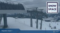 Archiv Foto Webcam Flachau: Starjet 3 Bergstation 01:00