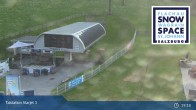 Archiv Foto Webcam Flachau: Talstation Starjet 1 13:00