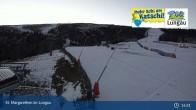 Archiv Foto Webcam Katschberg: Aineck Mittelstation 19:00