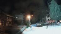 Archiv Foto Webcam Zermatt - Kirche 22:00