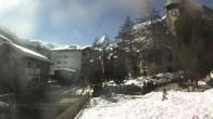 Archiv Foto Webcam Zermatt - Kirche 06:00