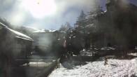 Archiv Foto Webcam Zermatt - Kirche 08:00