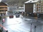 Archiv Foto Webcam Zermatt - Bahnhofplatz 06:00