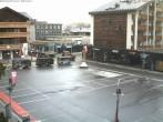 Archiv Foto Webcam Zermatt - Bahnhofplatz 08:00