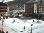 Archiv Foto Webcam Zermatt - Bahnhofplatz 10:00