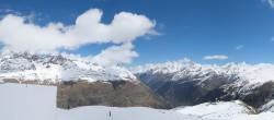Archiv Foto Webcam Zermatt Hörnlibahn Bergstation - Blick zum Matterhorn 06:00