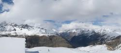 Archiv Foto Webcam Zermatt Hörnlibahn Bergstation - Blick zum Matterhorn 10:00