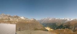 Archiv Foto Webcam Zermatt Hörnlibahn Bergstation - Blick zum Matterhorn 22:00