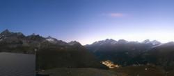 Archiv Foto Webcam Zermatt Hörnlibahn Bergstation - Blick zum Matterhorn 00:00