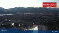 Archiv Foto Webcam Oberstdorf: Schanze Skispringen 01:00