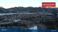 Archiv Foto Webcam Oberstdorf: Schanze Skispringen 07:00