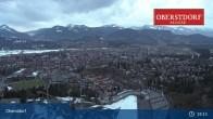 Archiv Foto Webcam Oberstdorf: Schanze Skispringen 19:00