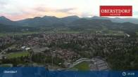 Archiv Foto Webcam Oberstdorf: Schanze Skispringen 21:00