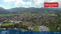 Archiv Foto Webcam Oberstdorf: Schanze Skispringen 09:00