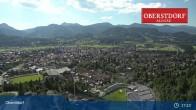 Archiv Foto Webcam Oberstdorf: Schanze Skispringen 11:00