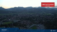 Archived image Webcam Oberstdorf: Ski Jump Area 19:00