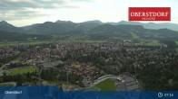 Archived image Webcam Oberstdorf: Ski Jump Area 01:00