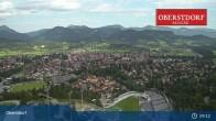 Archived image Webcam Oberstdorf: Ski Jump Area 03:00