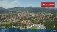Archived image Webcam Oberstdorf: Ski Jump Area 05:00