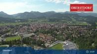 Archived image Webcam Oberstdorf: Ski Jump Area 09:00