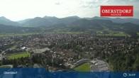 Archived image Webcam Oberstdorf: Ski Jump Area 11:00
