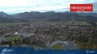 Archiv Foto Webcam Oberstdorf: Schanze Skispringen 23:00