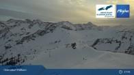Archived image Webcam Fellhornbahn - Bergstation 04:00