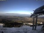 Archiv Foto Webcam Skiarena Imbergbahn: Bergstation Fluhexpress 08:00