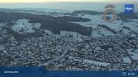 Archiv Foto Webcam Panorama Oberstaufen 21:00