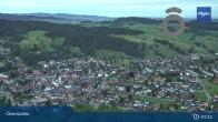 Archiv Foto Webcam Panorama Oberstaufen 23:00