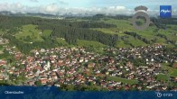 Archiv Foto Webcam Panorama Oberstaufen 01:00