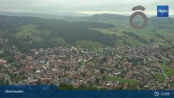 Archiv Foto Webcam Panorama Oberstaufen 07:00