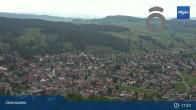 Archiv Foto Webcam Panorama Oberstaufen 11:00