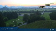 Archiv Foto Webcam Talstation Tegelbergbahn 21:00