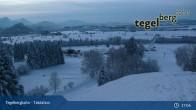 Archiv Foto Webcam Talstation Tegelbergbahn 19:00