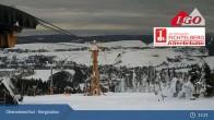 Archiv Foto Webcam Oberwiesenthal - Bergstation 09:00