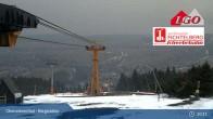 Archiv Foto Webcam Oberwiesenthal - Bergstation 21:00