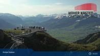 Archiv Foto Webcam Hoher Kasten Live-Cam 05:00