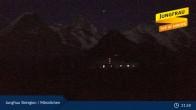 Archiv Foto Webcam Jungfrau Skiregion / Männlichen 23:00