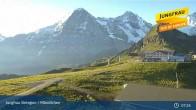 Archiv Foto Webcam Jungfrau Skiregion / Männlichen 01:00