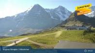 Archiv Foto Webcam Jungfrau Skiregion / Männlichen 03:00