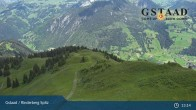 Archiv Foto Webcam Gstaad - Rinderberg Spitz 07:00