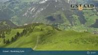Archiv Foto Webcam Gstaad - Rinderberg Spitz 09:00
