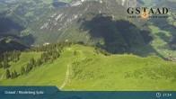 Archiv Foto Webcam Gstaad - Rinderberg Spitz 11:00